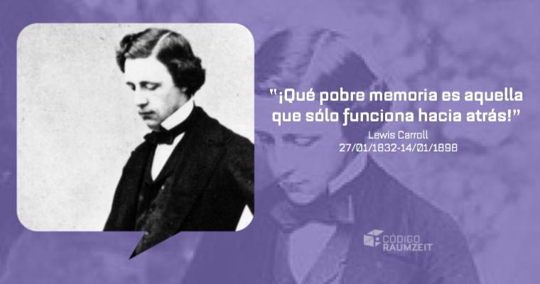 27 de enero de 1832. Nace Lewis Carroll