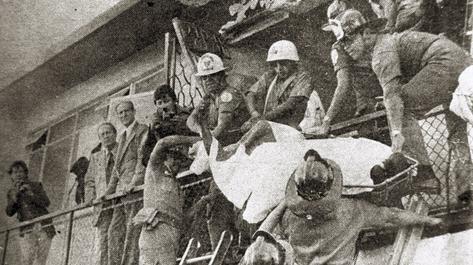 La masacre en la embajada de España