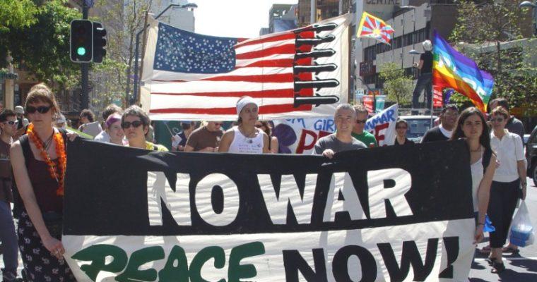 ¡No a la Guerra!